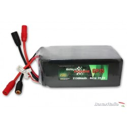 Batteria lipo GigaPower GP215006S 22,2V 21500mAh 6Cell 20C