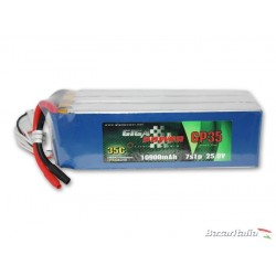 Batteria lipo GigaPower GP109007S 25,9V 10900mAh 7Cell 35C