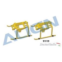 Ricambio pattini align t-rex 150 H15F001XE   150 Landing Skid- Yellow Suitable for T-REX 150