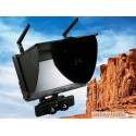nuovo monitor lcd Boscam Galaxy D2 FPV 5.8G 32CH 7 Inch LCD Monitor With Sunshield