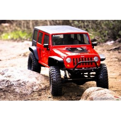 Automodello Jeep Wrangler Rubicon In Kit  Unlimited 4Wd Axial Scx10