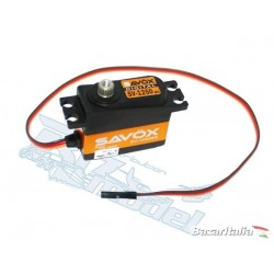 Servocomando digitale SAVOX SV-1250MG Digital Servo High Voltage 7,4V  SAXSV-1250MG