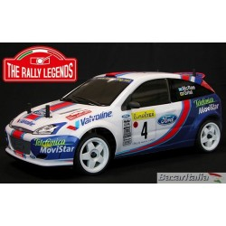 Automodello elettrico The Rally Legends Ford Focus WRC 2001 Mc Rae GRIST scala 1:10 pronta a correre rtr