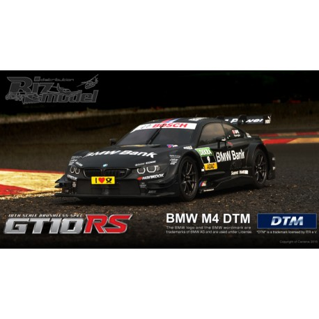 Automodello elettrico Carisma GT10RS Series On Road Scale : 1/10 GT10RS MERCEDES-AMG C-COUPE DTM 2014 (BLACK)