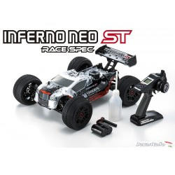 KYOSHO INFERNO NEO ST RACE 2.0 READYSET T1 SILVER (KT331P-KE25) PRONTA ALL'USO!!! 33002T1B