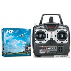 Bellissimo simulatore di volo rc REAL FLIGHT 7.5 TX TXX600  MODE2