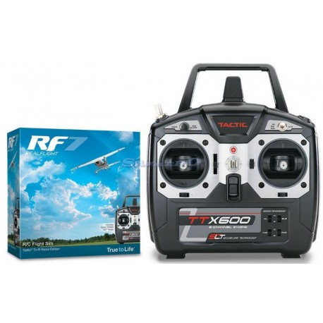 Bellissimo simulatore di volo rc REAL FLIGHT 7.5 SENZA RADIO  INTERFACE EDITION