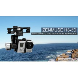 Gimbal DJI Zenmuse H3-3D Gimbal 3 AXIS for GoPro3 - GoPro4 Versione applicabile a tutti i droni