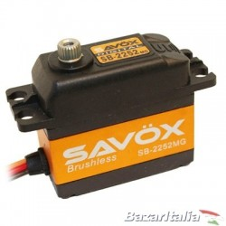 Servocomando diglitale Brushless  Savox SB-2252MG Ultra Speed 6.0V  Speed  0.045
