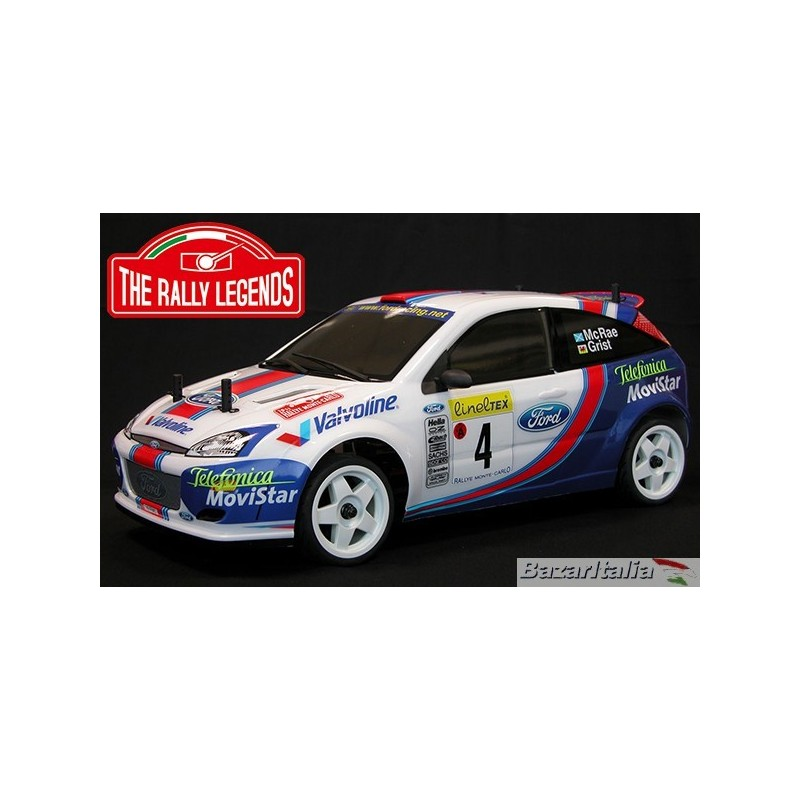 Automodello Elettrico The Rally Legends Ford Focus Wrc